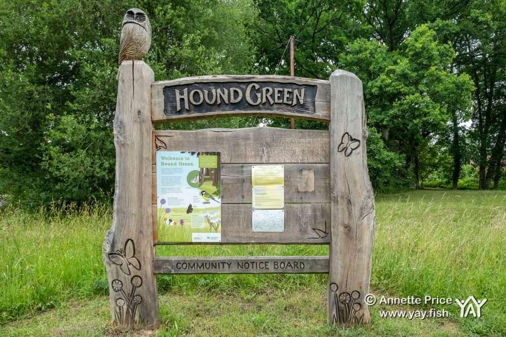 Hound Green. Mattingley, Hampshire. UK.