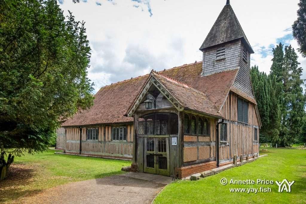 Mattingley Church, Hook, Hampshire. UK.
