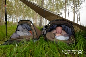 Review. Wild camping with a Rab Ridge Raider Bivi