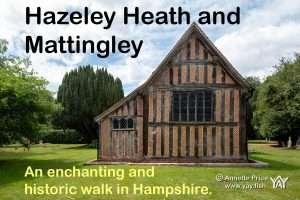 Hazeley Heath and Mattingley: An enchanting historic walk in Hampshire.